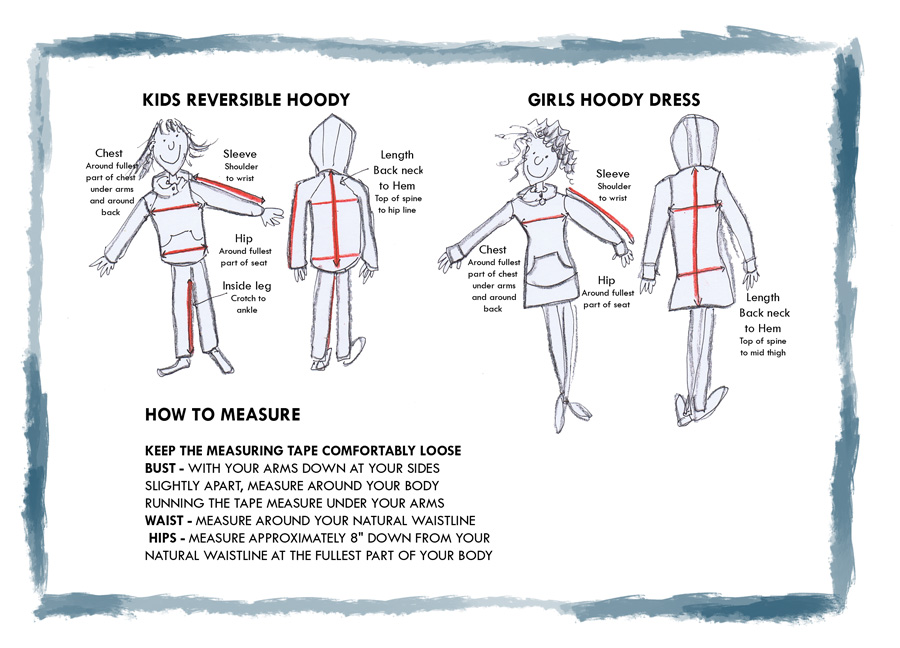 Kids How to Measure Guide