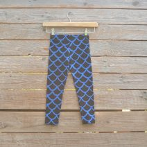 Kid's leggings age 3 black/royal