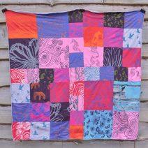 Blanket - large patchwork