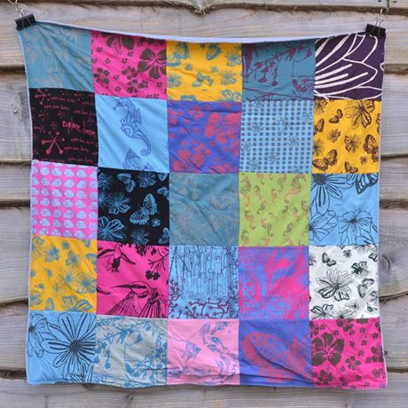 Blanket - medium patchwork