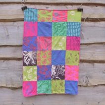 Blanket - small patchwork