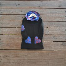 Hoody dress age 2 black