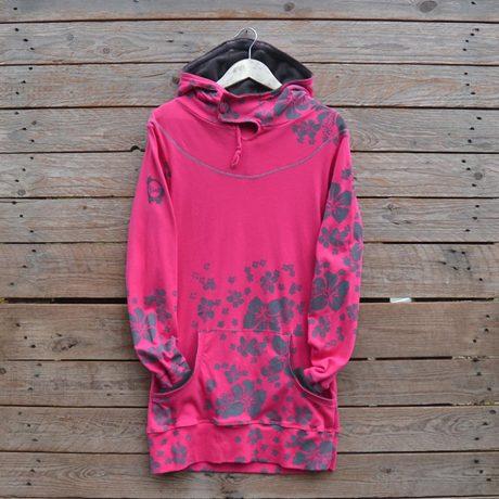 Jersey hoody dress size 10
