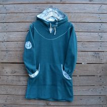 Hoody dress size 14 teal