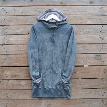Jersey hoody dress size 8