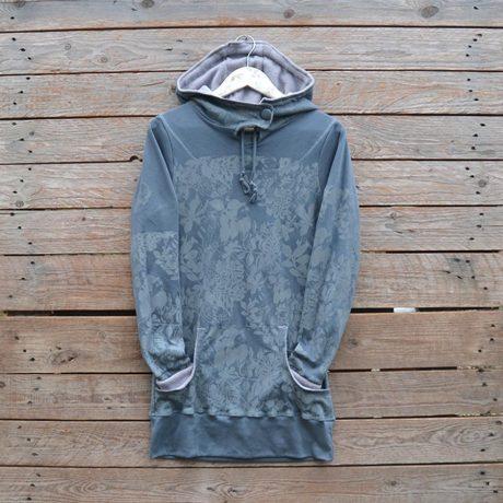 Jersey hoody dress size 8