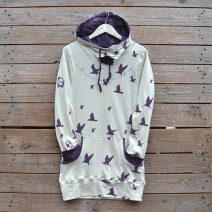 Jersey hoody dress size 12
