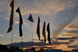 Bristol Volksfest sunset