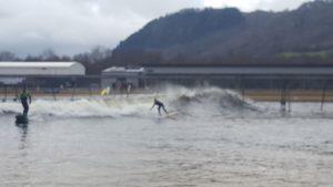 SAS reps surfing