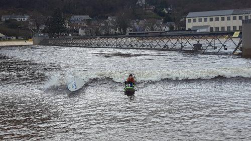 Surfing Snowdonia