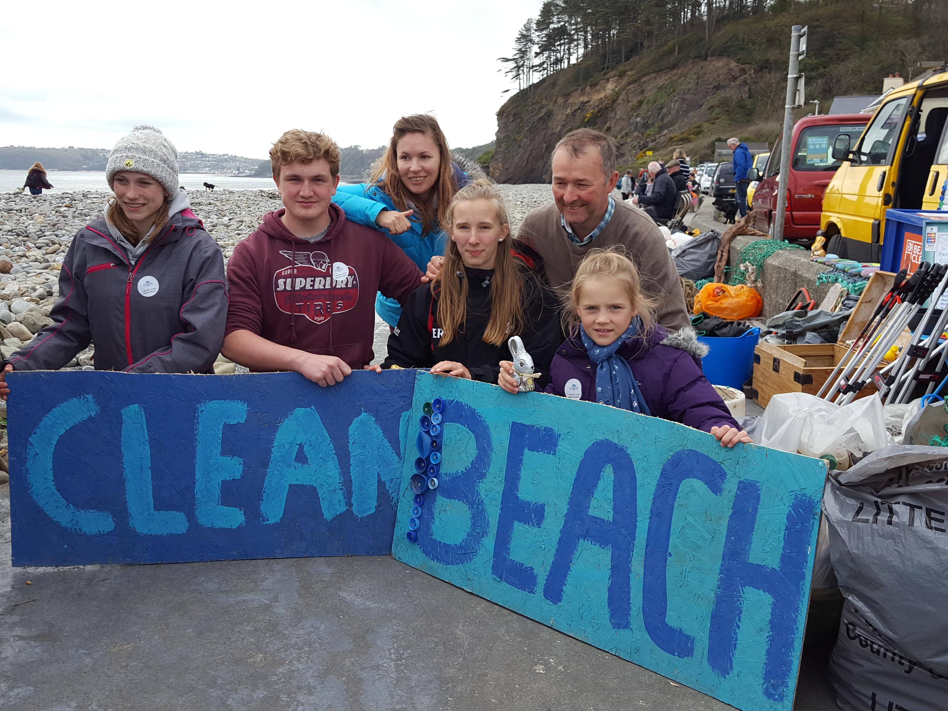 Amroth Big Spring Beach Clean 2017