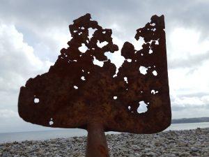 Cool rusty spade