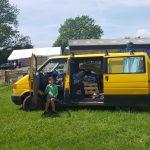 isea Surfwear little yellow van