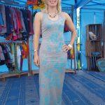 Custom made maxi dress