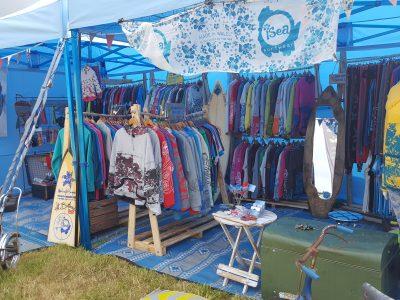 isea Surfwear stall