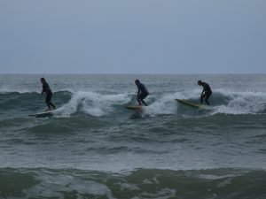 Surfing at Fresh