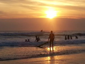 Sunset Surf at Fresh